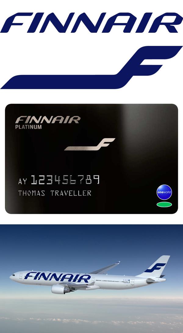 Από πάνω προς τα κάτω: Ο νέος λογότυπος, το σήμα/δευτερεύον γραφικό, εφαρμογή σε κάρτα μιλίων και εφαρμογή σε αεροσκάφος