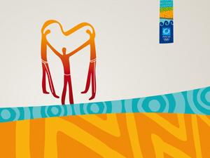 Το σήμα του εθελοντισμού των Ολυμπιακών της Αθήνας
