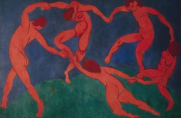 """Η δεύτερη παραλλαγή του πίνακα """"Dance"""" του Henri Matisse"""