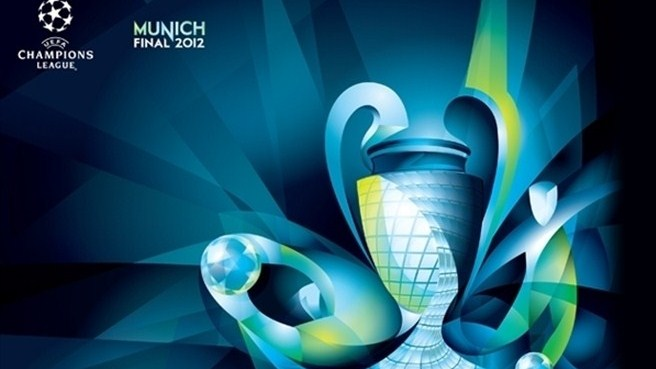 UEFA Champions League Munich 2012 Final identity by Works