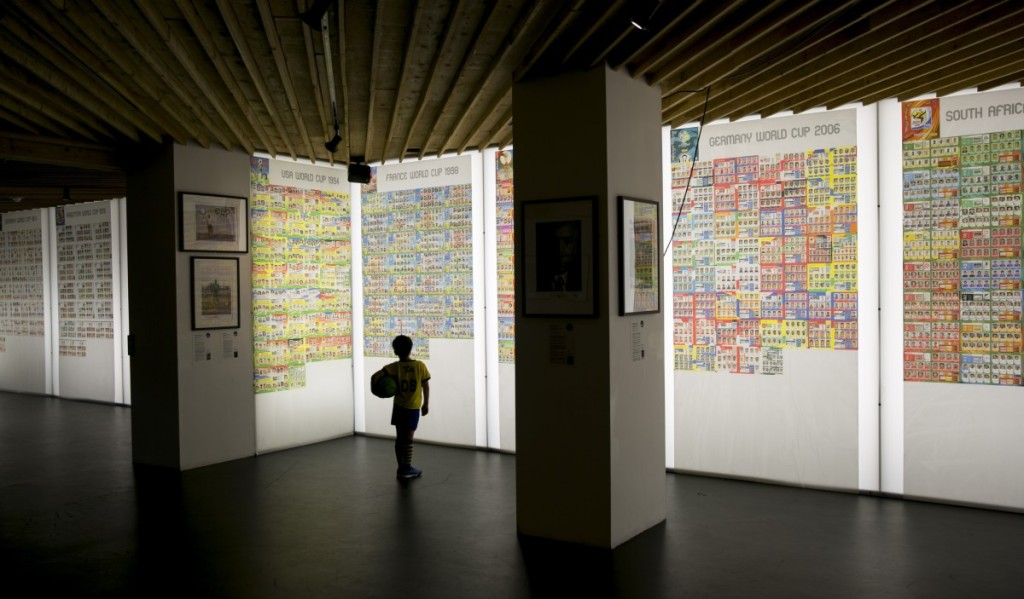 Panini World Cup sticker exhibition at The Proud Archivist, London, Britain - 11 Jun 2014