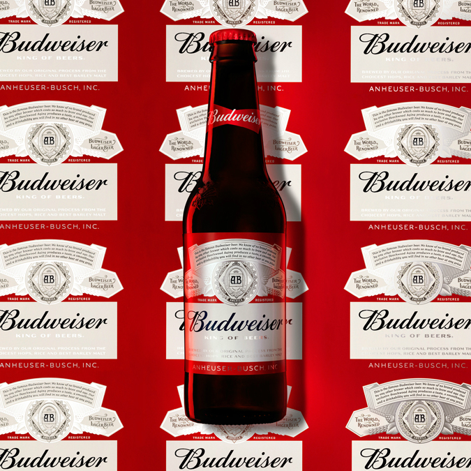 2016 Budweiser bottle by jkr New York