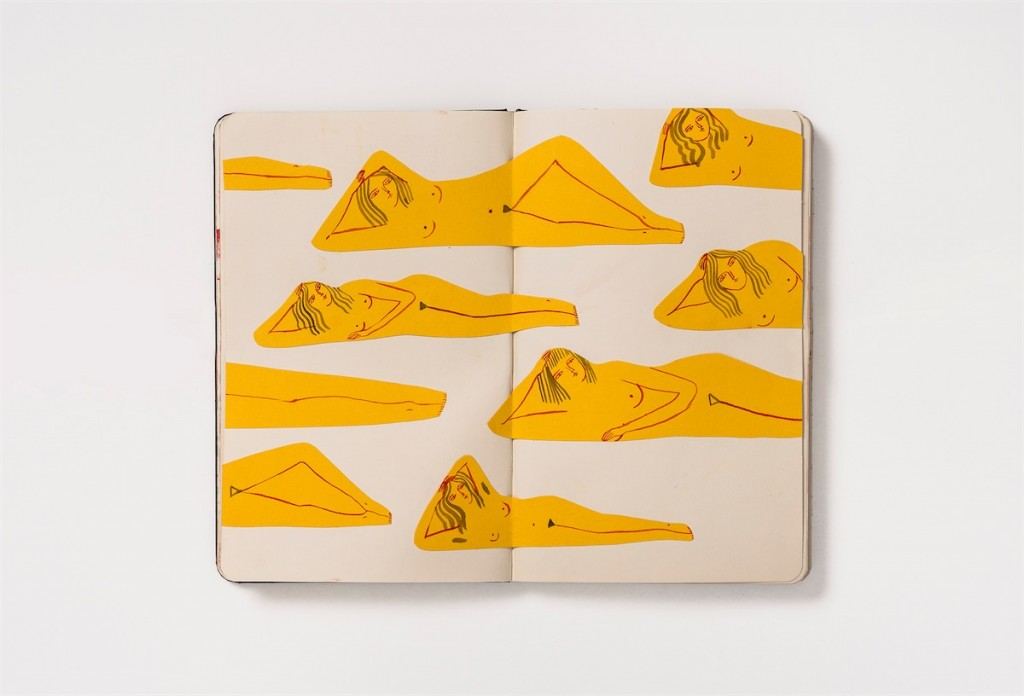 Kaye Blegvad : Sketchbook #10 New York