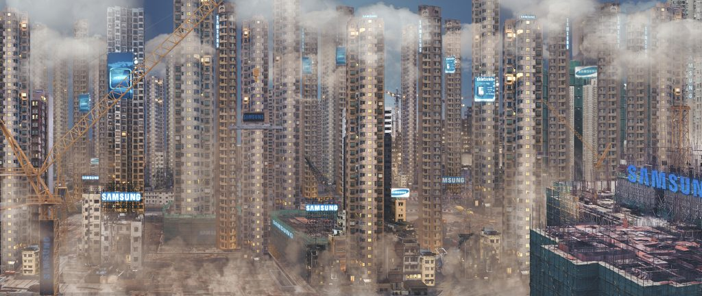 samsung-city_daytime_new-city-animated-skyline-series-liam-young-2015